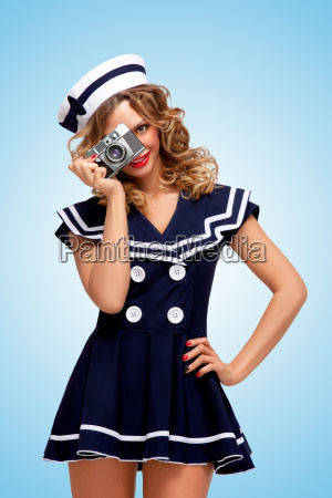vintage sailor girl