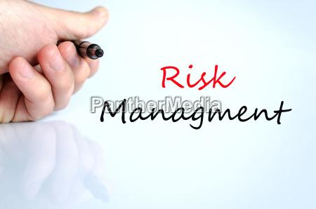 risk managment koncept