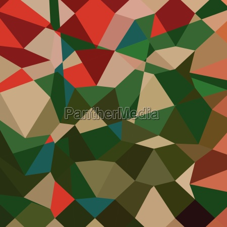 amazon green abstract low polygon background