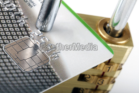 close up of credit card and