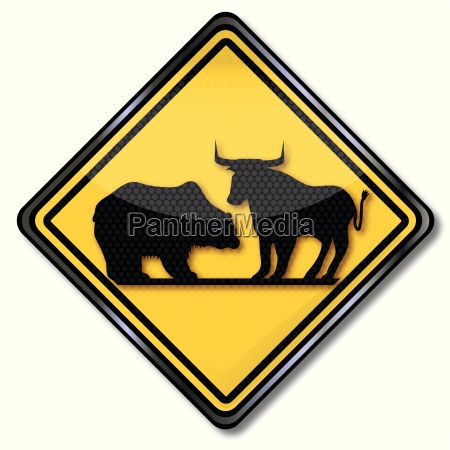 sign with finances bear and bull