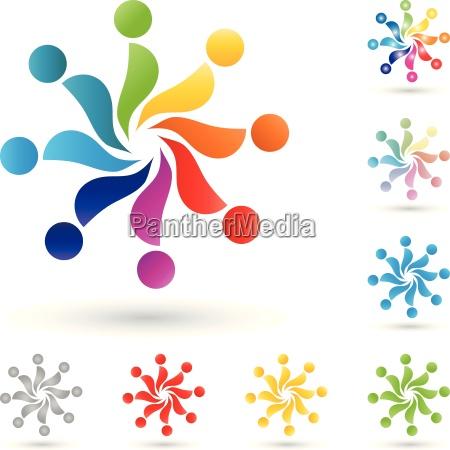 logo people team