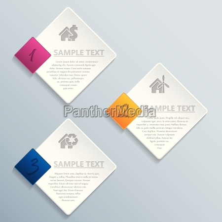 abstrakt, rhombus, infografik, design - 14240115