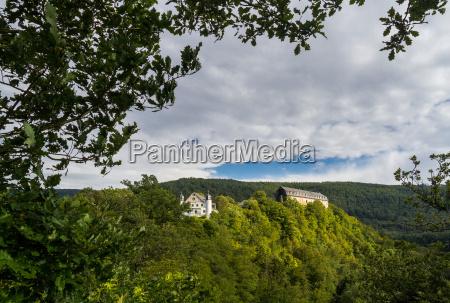 view of schwarzburg castle
