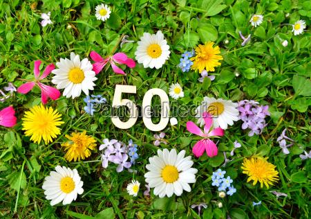 50 geburtstag zahlen