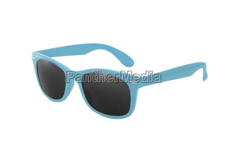 blue wayfarer glasses