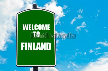 willkommen in finnland