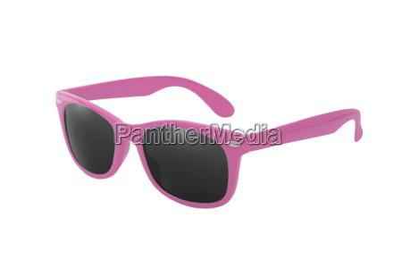 sonnenbrille, wayfarer, in, rosa - 14253209