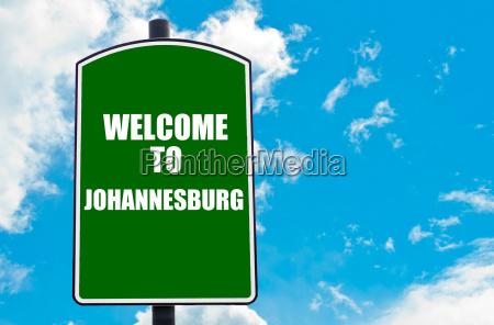 willkommen in johannesburg