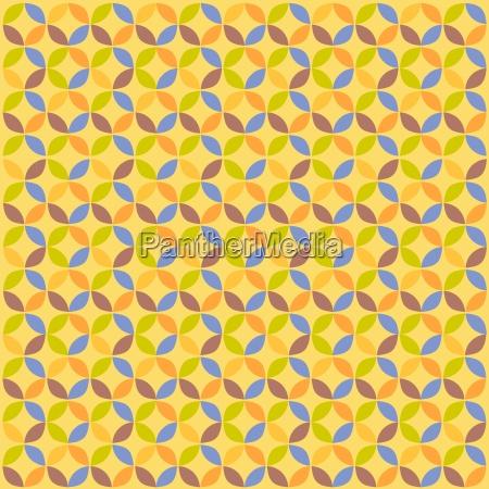geometric circle pattern abstract geometric modern