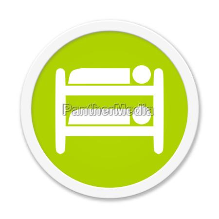 runder button zeigt hochbett