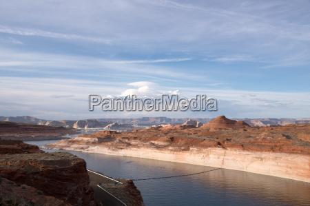 lake powell arizona usa