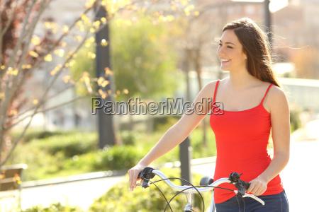 candid woman walking in an urban