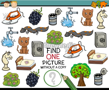 find single picture game cartoon
