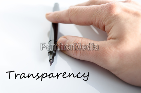 transparenz konzept