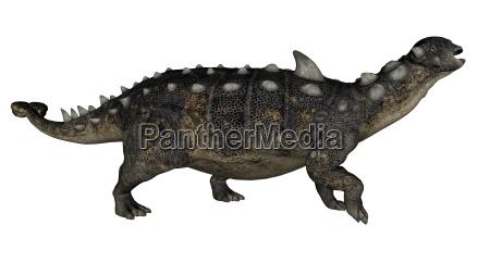 euoplocephalus dinosaurier 3d uebertragen