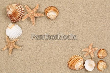 strand szene im urlaub sommer mit