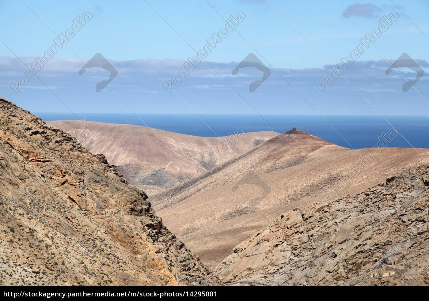 Fuerteventura, Kanarischen Inseln, Kanaren, Natur, Berge, Hügel - 14295001