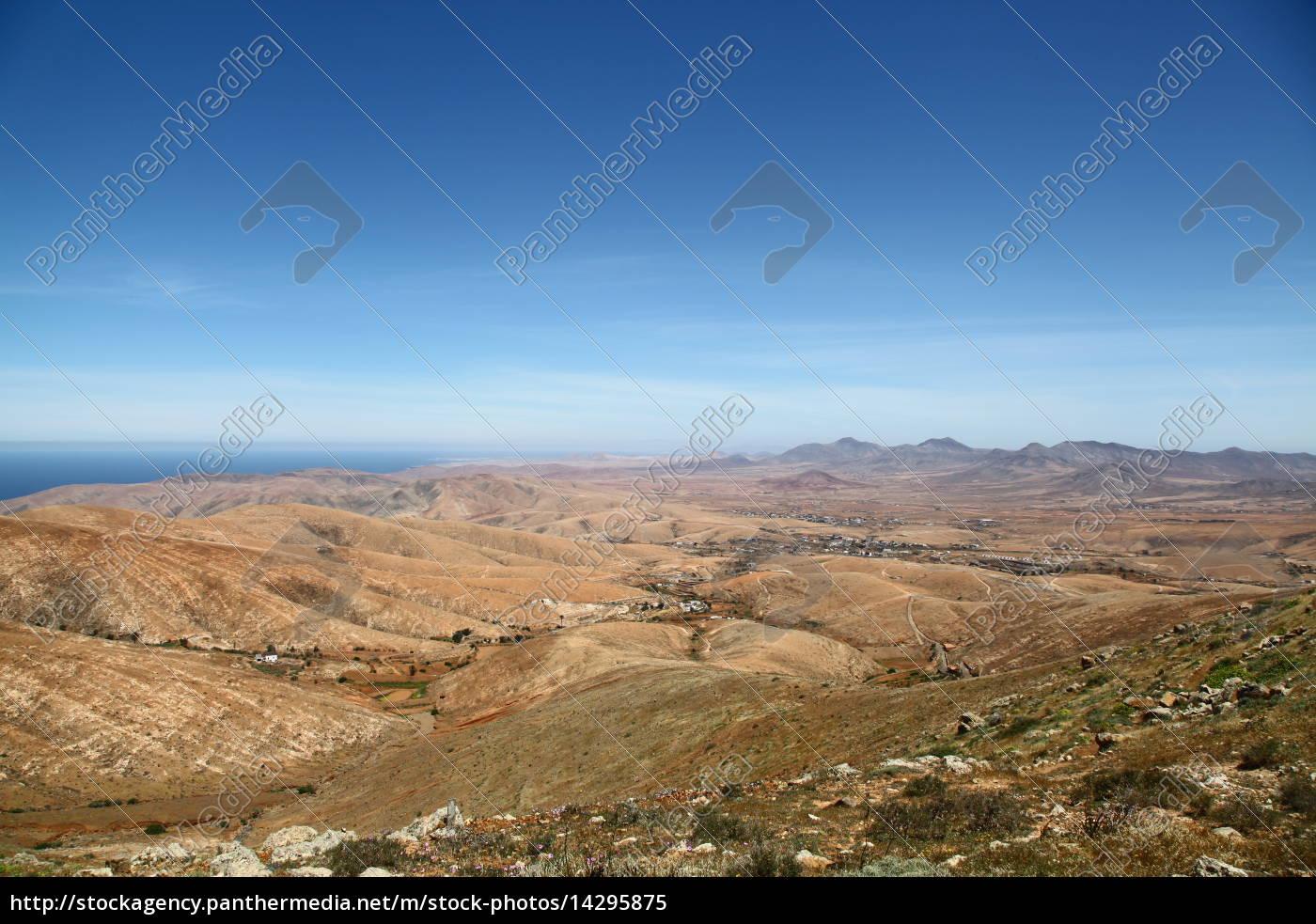 Fuerteventura, Kanarischen Inseln, Kanaren, Natur, Berge, Hügel - 14295875
