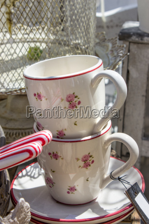 two cup coffee cups pattern patterned
