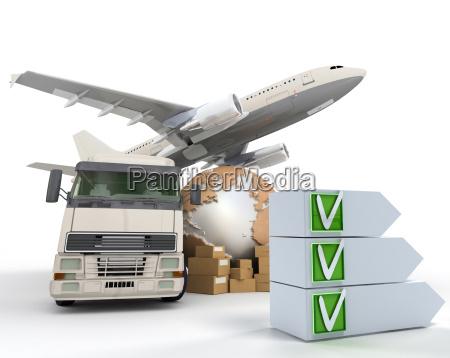 transport checkliste