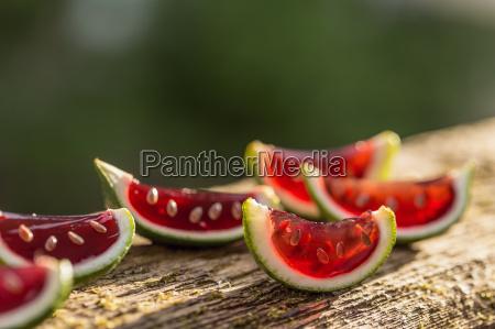 wassermelonen wackelpudding