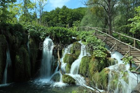 der nationalpark plitvice in kroatien
