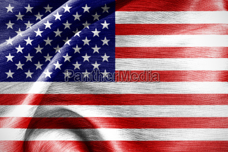 united of america flag silk cotton