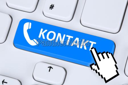 kontakt anrufen service hotline telefon symbol
