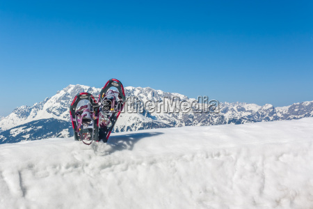 outdoor schneeschuhwandern