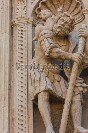historisches zentrum san sebastinao kirche barocke