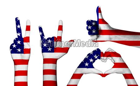 amerikanisch usa amerika fahne amerikaner flagge