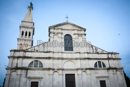 exterior of saint euphemia church at