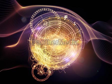 virtuelles leben der heiligen geometrie