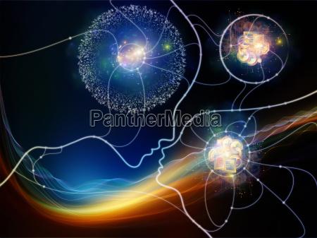 digitale thought netzwerk