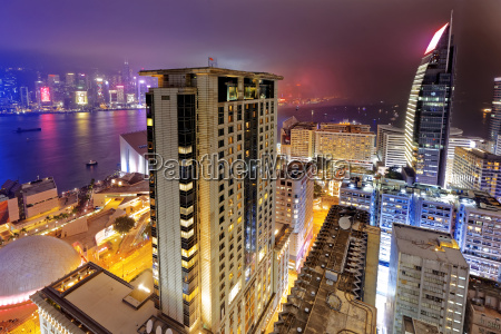 tsim sha tsui night