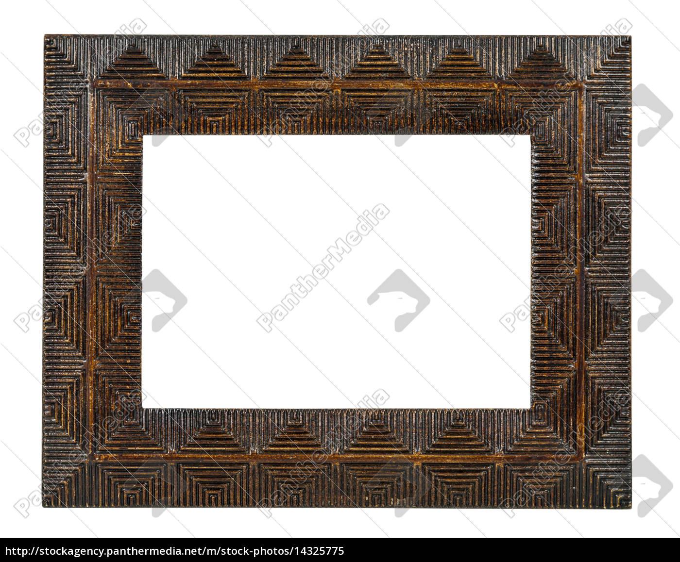 dekorative, bronze, leerer, bilderrahmen - 14325775