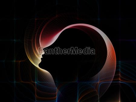 profil kunst koncept udkast plan grafik