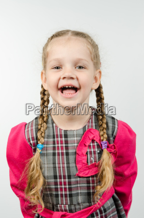 half length portrait of a smiling