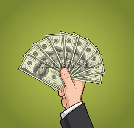 hands showing money 2
