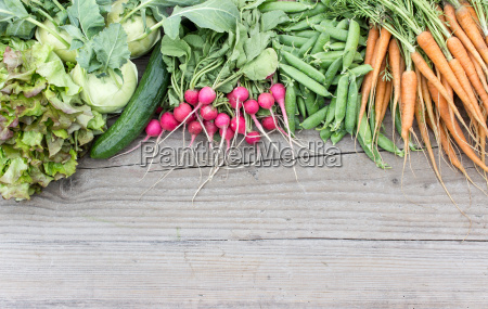 fresh, turnip, , pea, pods, , carrots, , cucumbers, - 14360073