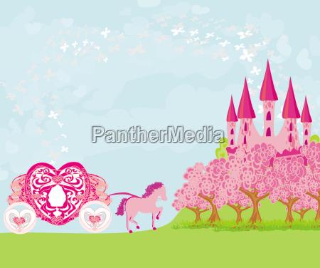 schoene maerchen rosa schloss
