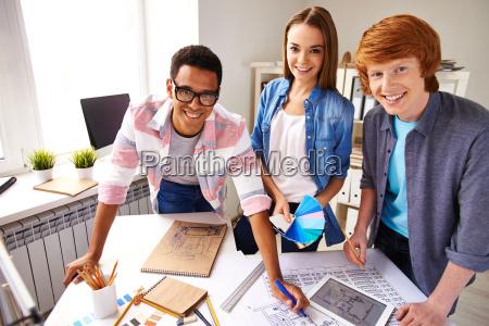 team von ingenieuren