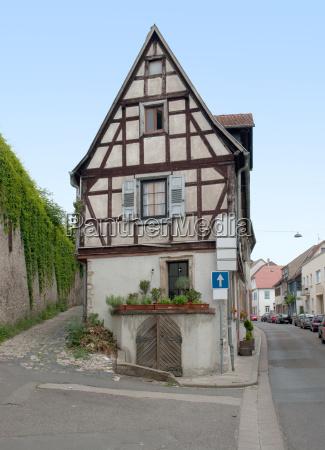 historic house in oppenheim