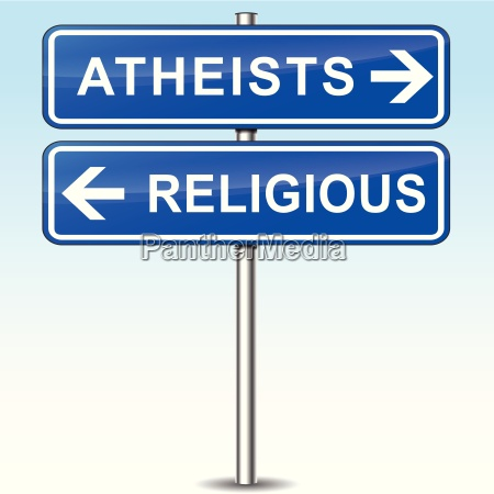 atheists sign