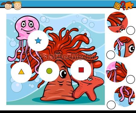 preschool education cartoon game