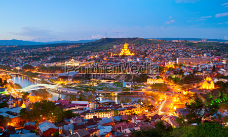 tbilisi panorama georgia