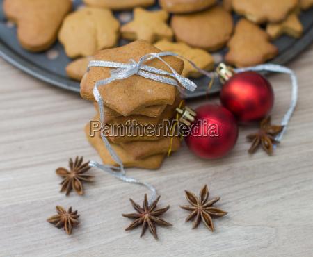 weihnachts lebkuchen kekse