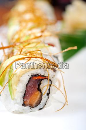 frische sushi auswahl