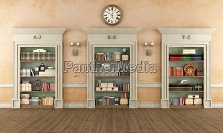 klassische bibliothek